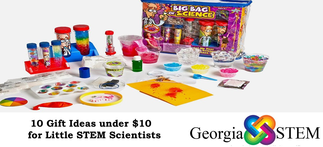 10 gift Ideas under 10 Dollars for Little Scientists