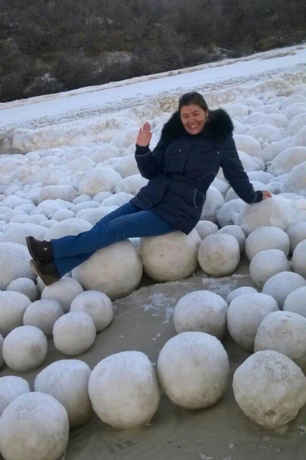 Snowball Photo Op
