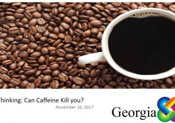 STEM Critical Thinking: Can Caffeine kill you?