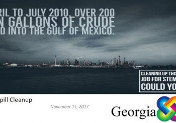 Georgia STEM Inquiry Lab: Oil Spill Cleanup