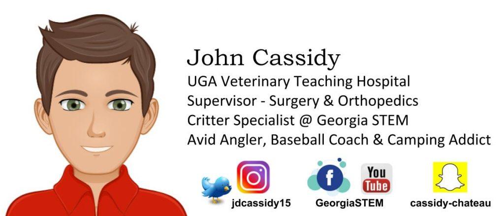 John Cassidy, UGA Vet Hospital